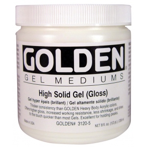 Golden® High Solid Gel Gloss 16 oz.: Gloss, 16 oz, 473 ml, Gel, (model 0003120-6), price per each