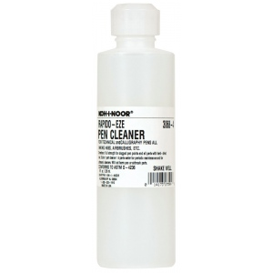 Koh-I-Noor® Rapido-Eze Pen Cleaner: Bottle, 8 oz, Soap & Cleaners, (model 30684), price per each
