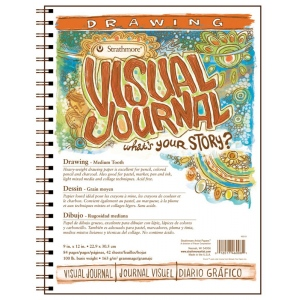 Strathmore® Medium Surface Wire Bound Drawing Book