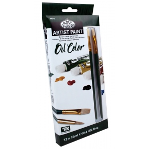 Royal & Langnickel 12ml Oil Paint 12-Color Set