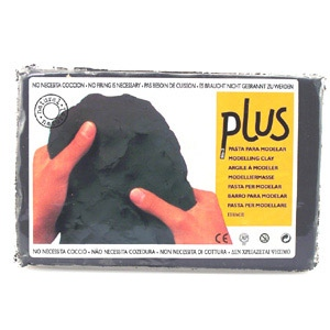 Plus Clay 2.2 lb Package: White, Pack of 6