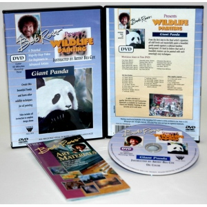 Bob Ross DVD Wildlife Painting: Giant Panda, 50 Minute