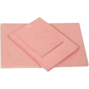 "Speedball® Speedy-Stamp™ 6"" x 12"" Carving Block: Red/Pink, Rubber, No, 6"" x 12"", 1/4"", Block"