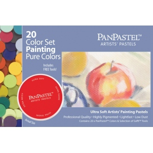 PanPastel Ultra Soft Painting Pastels 20-Set