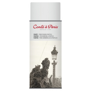 Conte™ Fixative Aerosol Spray: Bottle, 400 ml, Varnish & Specialty, (model C50243), price per each