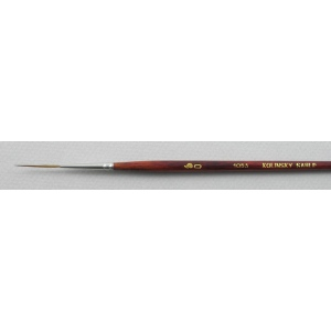 Trinity Brush Kolinsky Sable Short Handle Script Liner Brush