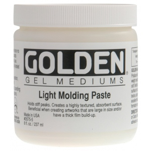 Golden® Light Molding Paste 16 oz.: 16 oz, 473 ml, Texture, (model 0003575-6), price per each