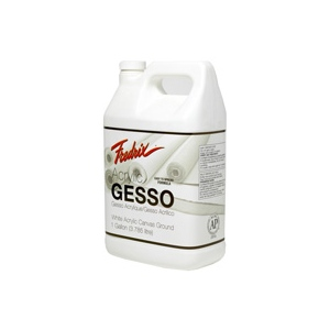 Fredrix® Acrylic Gesso 1 gallon: 1 gal, Acrylic Painting, Gesso, (model T4406), price per each