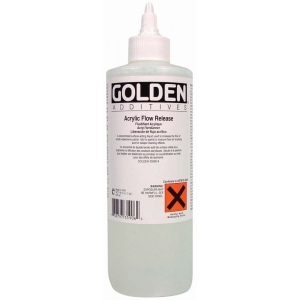 Golden® Acrylic Fluid Release 4 oz.: 118 ml, 4 oz, Acrylic Painting, (model 0003590-4), price per each