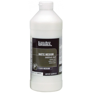 Liquitex® Matte Medium 32oz: Matte, Bottle, 32 oz, (model 5132), price per each