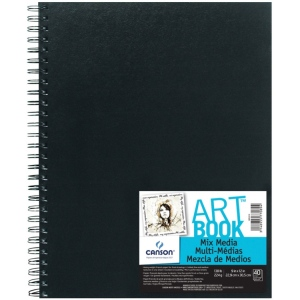Canson® ArtBook™ Mix Media Wirebound Book