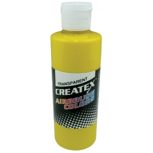 Createx™ Airbrush Paint 2oz Brite Yellow: Yellow, Bottle, 2 oz, Airbrush