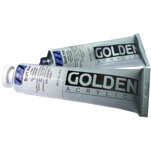 Golden® Heavy Body Historical Hue Acrylic 2 oz. Smalt Hue: Black/Gray, Tube, 2 oz, 59 ml, Acrylic, (model 0001467-2), price per tube