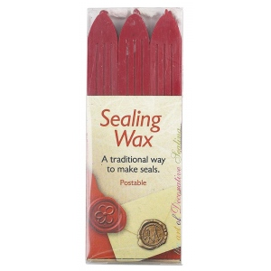 Manuscript Sealing Wax Sticks, Pack of 3