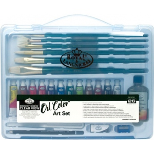 Royal & Langnickel Clear View Oil Painting Set