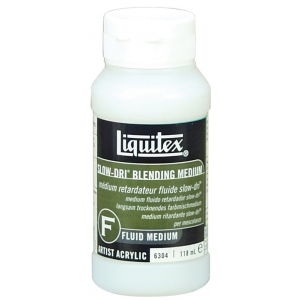 Liquitex® Slow-Dri® Blending Medium 4oz: 4 oz, Acrylic Painting