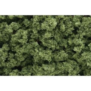 Woodland Scenics® Light Green Bushes: Green, 18 cu in, Bushes, (model FC145), price per each