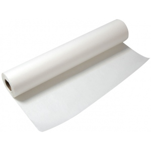 "Alvin® Lightweight White Tracing Paper Roll 24"" x 20yd: White/Ivory, Roll, 24"" x 20 yd, Smooth, Tracing, 8 lb, (model 55W-D), price per roll"