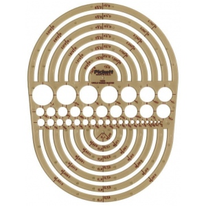 Pickett Circle Radius Master Template