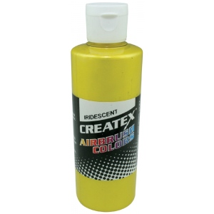 Createx™ Airbrush Paint 2oz Iridescent Yellow: Yellow, Bottle, 2 oz, Airbrush, (model 5503-02), price per each