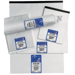 "Alvin® Alva-Line 100% Rag Vellum Tracing Paper 250-Sheet Pack 17 x 22: Sheet, 250 Sheets, 17"" x 22"", Tracing, 16 lb, (model 6855-HR-7), price per 250 Sheets"
