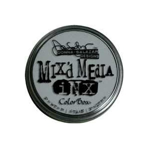 ColorBox® Mix'd Media Inx™ Pewter Pigment Ink Pad: Black/Gray, Pad, Pigment, Refillable