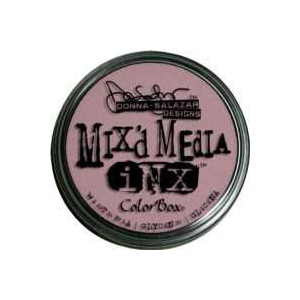 ColorBox® Mix'd Media Inx™ Wisteria Pigment Ink Pad: Red/Pink, Pad, Pigment, Refillable, (model CS37013), price per each