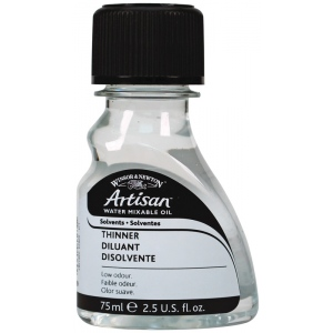 Winsor & Newton™ Artisan 75ml Water Mixable Thinner: 75 ml, Solvents, (model 3221729), price per each