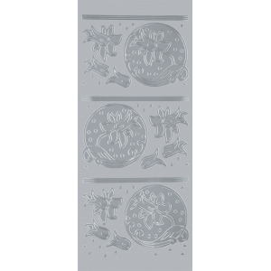 "Blue Hills Studio™ DesignLines™ Outline Stickers Silver #20: Metallic, 4"" x 9"", Outline, (model BHS-DL020), price per pack"
