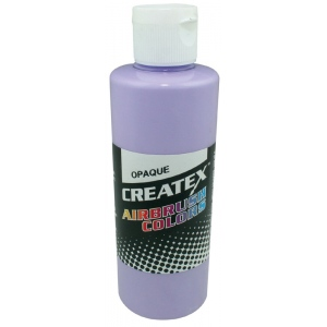 Createx™ Airbrush Paint 4oz Opaque Lilac: Purple, Bottle, 4 oz, Airbrush, (model 5203-04), price per each