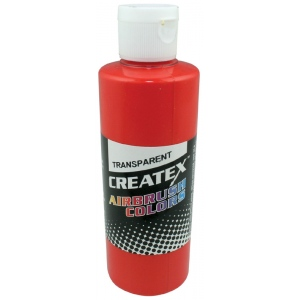 Createx™ Airbrush Paint 4oz Sunset Red: Red/Pink, Bottle, 4 oz, Airbrush, (model 5118-04), price per each