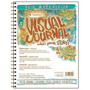 Strathmore® Cold Press Wire Bound Watercolor Book