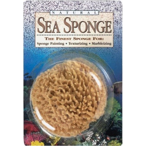 "Hydra® 5-6"" Natural Sea Sponge: 6"", (model SS5), price per each"