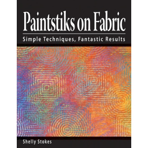 Cedar Canyon Textiles Paintstiks on Fabric Book: Book, (model CCT401), price per each