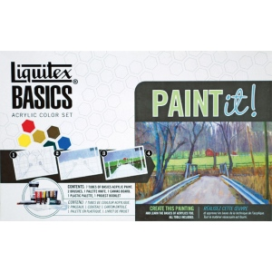 Liquitex Acrylic Color Paint It! Set