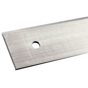 "Alvin® 1109 Series 18"" Tempered Stainless Steel Cutting Straightedge: Metallic, Steel, 18"", Straightedge"