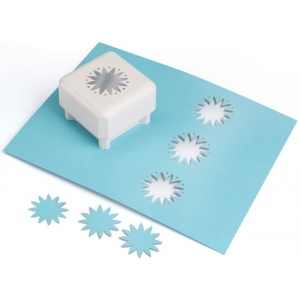 Martha Stewart Crafts™ Punch All Over The Page™ Magnetic Punch Star Burst: Shape, (model 42-90028), price per each