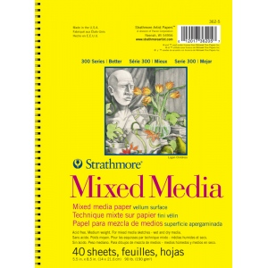 Strathmore® 300 Series Mixed Media Drawing Pad