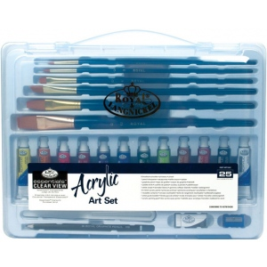 Royal & Langnickel Clear View Acrylic Painting Set