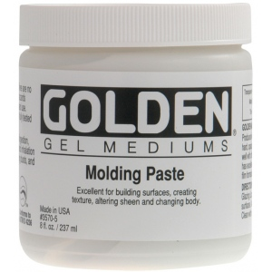 Golden® Traditional Molding Paste 16 oz.: 16 oz, 473 ml, Texture, (model 0003570-6), price per each