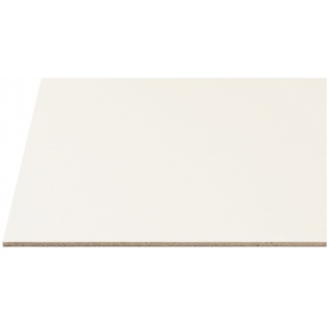 "Alvin® Draft-Art Cold Press Illustration Board 30 x 40: White/Ivory, Sheet, 25 Sheets, 30"" x 40"", Cold Press, Illustration Board"