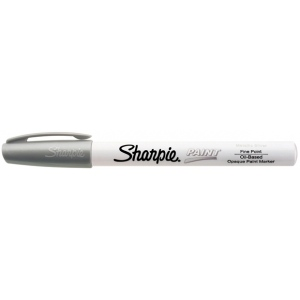 Sharpie® Oil Paint Marker Fine Silver: Metallic, Paint, Fine Nib