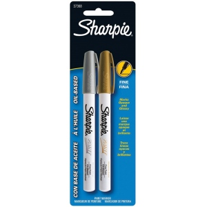 Sharpie® Oil-Based Metallic Paint Marker Sets