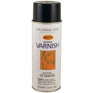 Grumbacher® Damar Varnish Spray for Oils