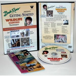 Bob Ross DVD Getting Started: Wildlife, 70 Minute