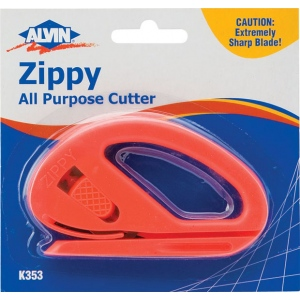 Alvin® Zippy All Purpose Cutter: General Purpose, Knife, (model K353), price per each