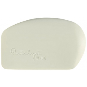 Princeton™ Catalyst™ Wedge Shape 6: Silicone Synthetic Bristle, Wedge, 6, Acrylic, Oil, (model W-06), price per each