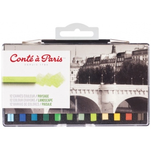 Conte™ 12-Color Crayon Set
