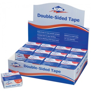 Alvin Double-Sided Tape Display