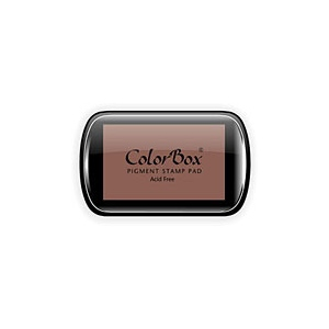 ColorBox® Full Size Ink Pad Cocoa: Brown, Pad, Pigment, Full Size Rectangle, (model CS15053), price per each